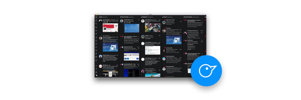 Windows、Mac両対応の「Tweeten」はTweetDeckを内包して強化