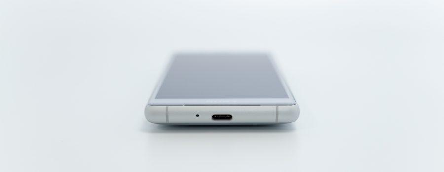 Xperia XZ2 Compact SO-05K 下部 USB type C