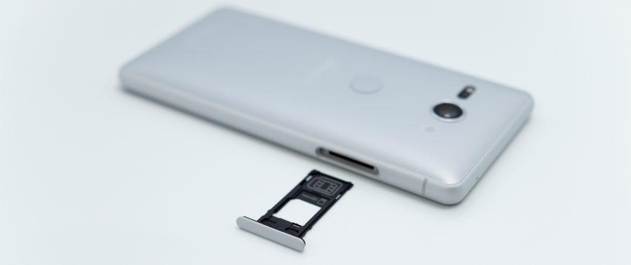 Xperia XZ2 Compact SO-05K SIMトレイ microSDトレイ