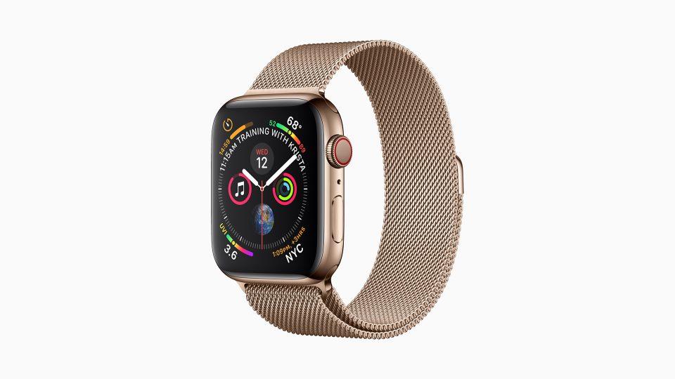 Apple Watch Series 4ステンレスゴールド