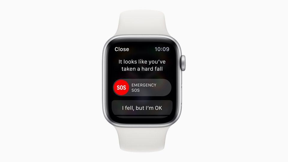Apple Watch落下検知緊急通報