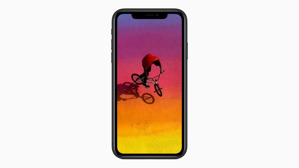 iPhone XR Liquid Retina Display