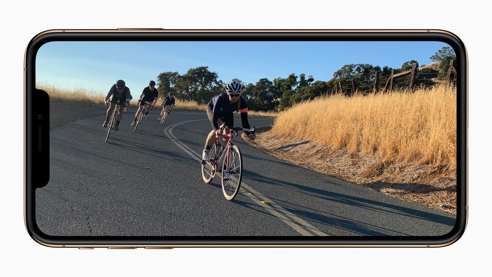 iPhone XSステレオ音声動画撮影