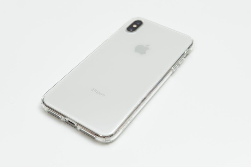 iPhone XS Max用リキッド・クリスタル 背面