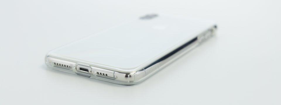 iPhone XS Max用リキッド・クリスタル 角