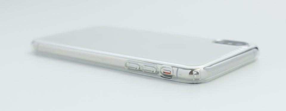 iPhone XS Max用リキッド・クリスタル マナーモードスイッチ