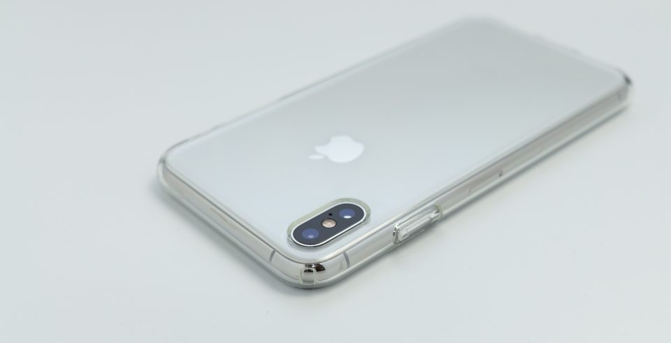 iPhone XS Max用リキッド・クリスタル カメラ周り