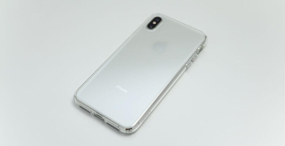 iPhone XS Max用リキッド・クリスタル