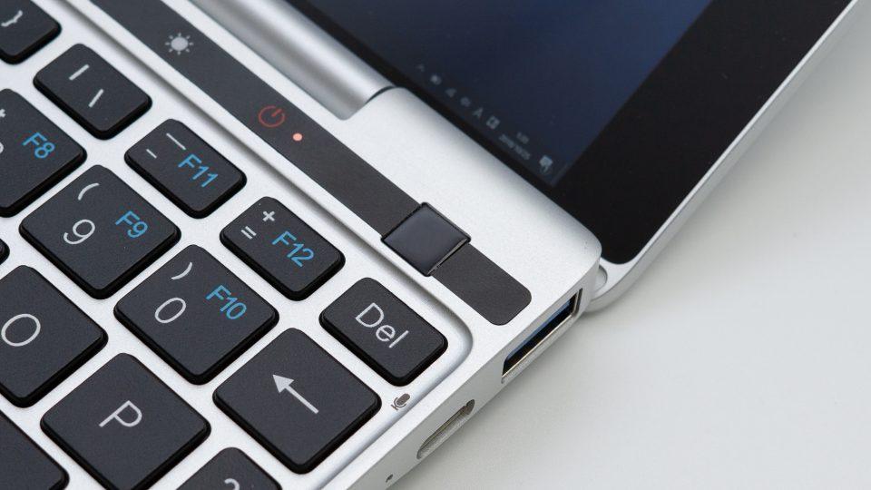 GPD Pocket 2 光学式ポインティングデバイス